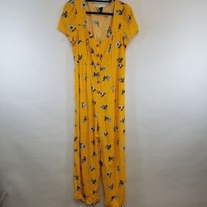 Wild Fable | Yellow Floral Jumper | size XL